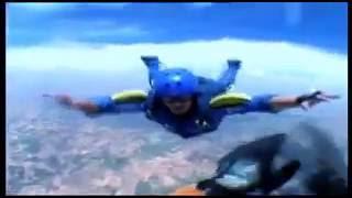 AFF level 5 skydiving in madrid. Barndog