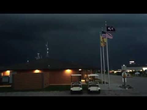Cheyenne Lightening Storm Chill Travelers Video