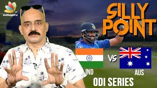 Rohit Sharma & Axar Patel flatten Australia : Bosskey's Silly Point | India vs Australia Highlights