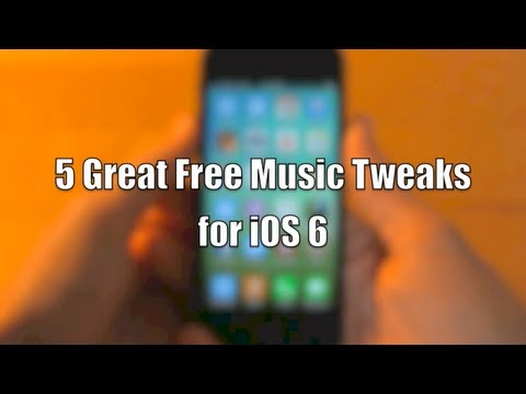 5 Great Free Music Tweaks for iOS 6