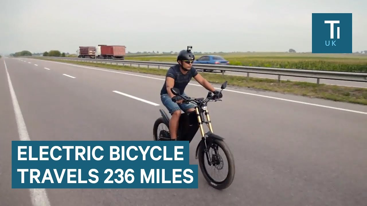 This E Bike Can Travel 236 Miles On A Single Charge