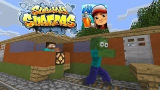 Monster School : Subway Surfers - Minecraft Animation