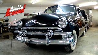 1951 Ford 2 Dr Sedan Flathead V8 Shoebox Ford