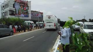 cm kcr convoy police secourit karimnagar new12/7/17
