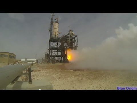 Blue Origin Debuts BE-3 Hydrogen Engine