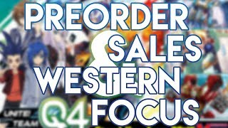 Cardfight!! Vanguard: Reboot Pre-Order Sales & Western Focus