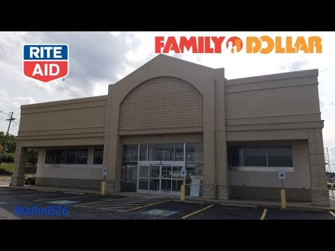 Abandoned Rite Aid / Family Dollar Erie, Pa