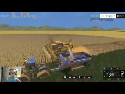 Dad's Farm V2 Episode 17-Start Of Soybean Harvest
