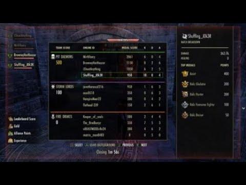 The Elder Scrolls Online: Battlegrounds Bomber - Flawless game |