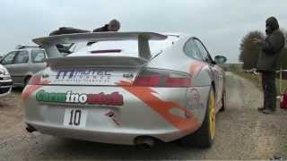 Porsche 996 GT3 Rallye - Pure Action exhaust Sound [HD] TOTOFMAN PROD