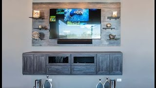 Modern Floating Media Center
