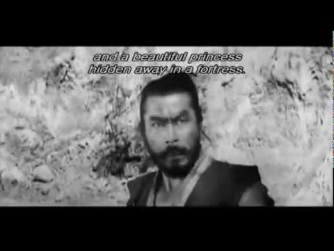 The Hidden Fortress movie trailer, Akira Kurosawa