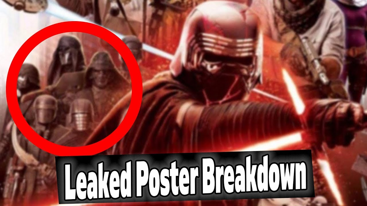 *NEW* STAR WARS EPISODE 9 LEAKED POSTER BREAKDOWN (Possible Spoilers)