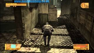 Red Zone Slaughter Pt1/3 CQC Assassin Style Metal Gear Solid 4 The Boss Extreme Difficulty 1080p HD