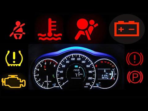 Basic Warning Lights Sa Inyong Dashboard - Basic Indicators And Meanings