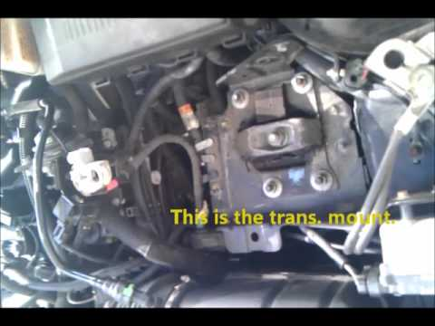 Replacing The Transmission mount on a 0507 Ford Focus
