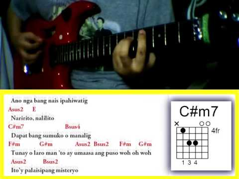 Misteryo By Sarah Geronimo Guitar Chords Youtube