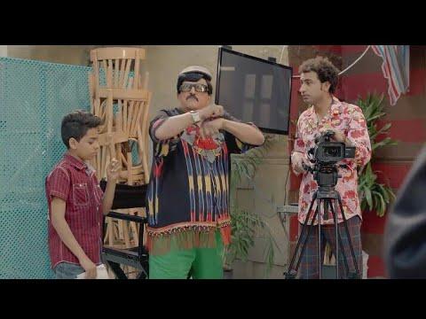هتموت من الضحك مع سمير غانم لما عمل مخرج وهيصور فيلم ف الحارة 😁😁