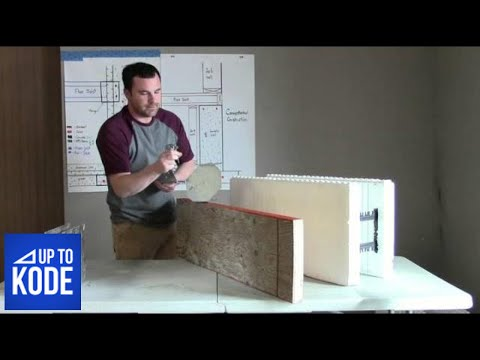 How To Hang A Floor Joist From An ICF Wall