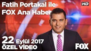 Kadir Topbaş istifa etti! 22 Eylül 2017 Fatih Portakal ile FOX Ana Haber