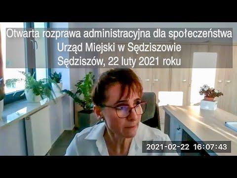 Rozprawa administracyjna - 2021.02.22
