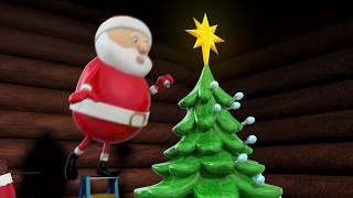 Merry Christmas And Happy New Year 2020 width Santa Claus