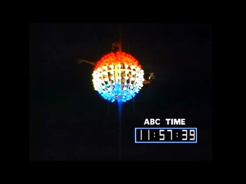 New Year's Eve Ball Drops at Times Square, NYC - 1973 to 2017
