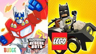 Transformers Rescue Bots: Disaster Dash + LEGO DC Mighty Micros | Eftsei Gaming