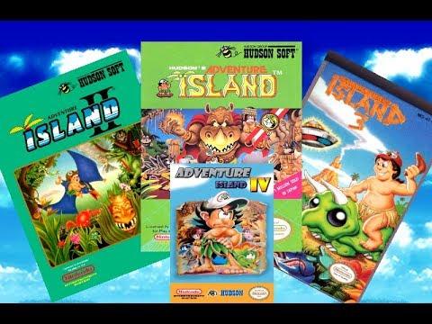 All Adventure Islands (NES) - Gameplay
