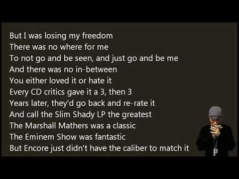 Eminem   Careful What You Wish For Lyrics HD