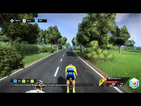 Le Tour De France 2014 Gameplay   PC, PlayStation 3, Xbox 360, Playstation 4
