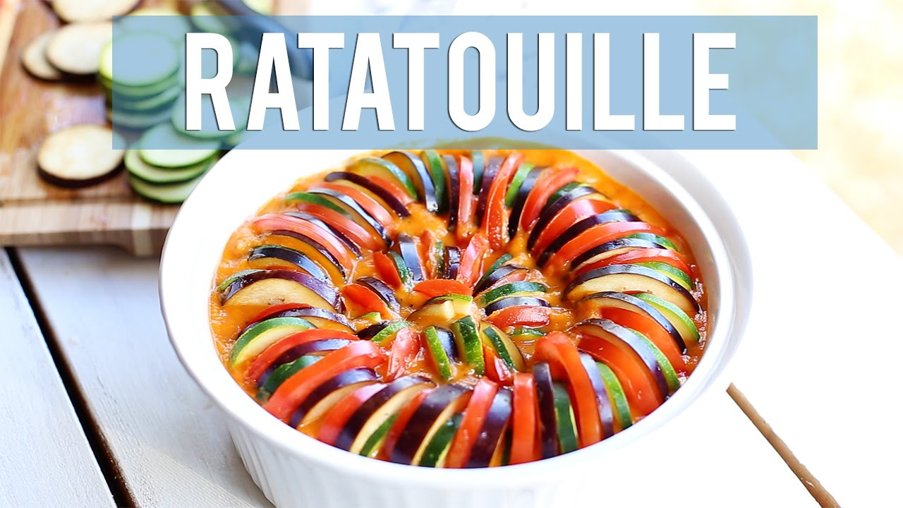 How To Make Ratatouille Disney Inspired Recipe Youtube