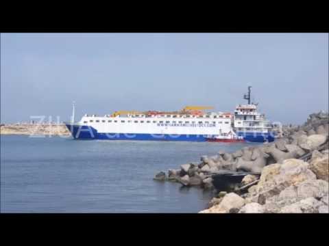 Nava YOUZAR SIF-H implicată în accidentul naval din Marea Neagră revine în Portul Midia