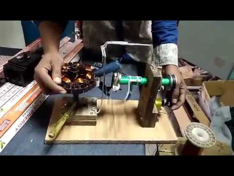 ceiling fan coil winding Machine  YouTube