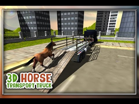 Horse Transport Truck Simulator 3D - Official Gameplay