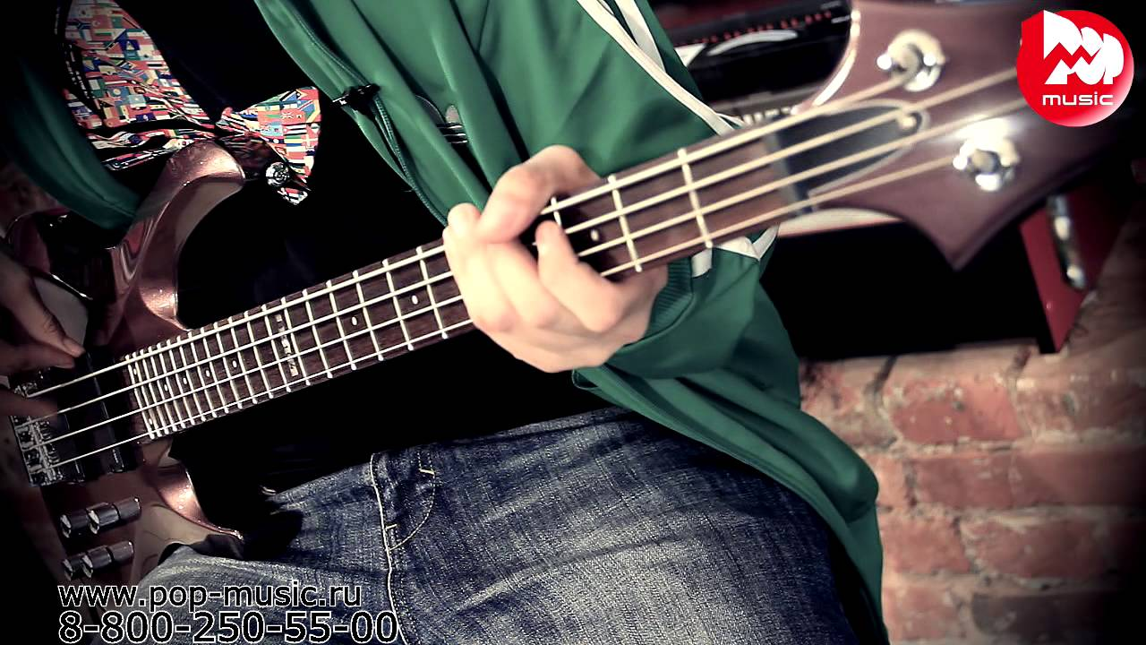 ESP LTD B-5 Spalted Maple Bass Guitar - YouTube