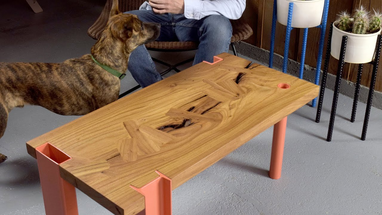 Building a Coffee Table with Shaper Origin - YouTube