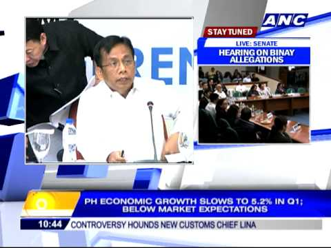 Philippine growth slows to 5.2 pct in Q1