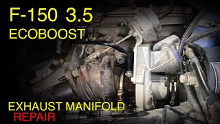 F-150 Ecoboost 3.5 Exhaust Mainfold/Stud Replacement (Tips and Tricks)