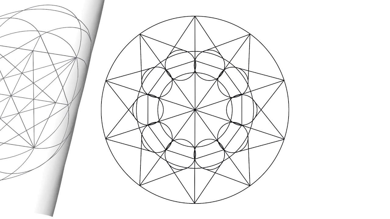 HERZGEOMETRIE – Heart Geometry Mandalas - YouTube