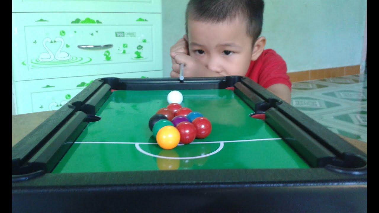 Bộ đồ chơi bi da trẻ em | billiards children | SNOOKER  children | POOL SERIES children