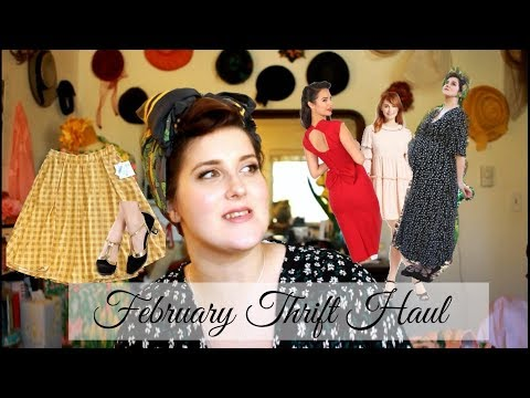 February Thrift Haul! || Stop Staring Clothing, Vintage, LuLaRoe, And More!