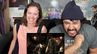 OFFICIAL SHAOLIN TRAILER - Mortal Kombat X REACTION!!!