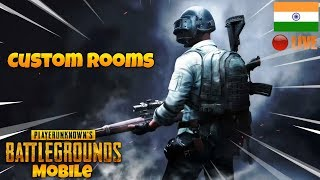 🔴Show Me Your Skills Bois ! |Custom Rooms 🔥| PUBG Mobile Live Stream India |Hindi|