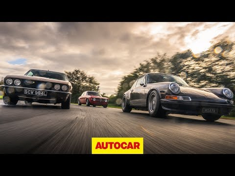 Restomods | Alfaholics GTA-R 290, JIA Jensen Interceptor R, Tuthill Porsche 911 | Autocar