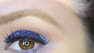 glitter eyeshadow makeup  tutorial Thumbnail
