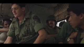 Apocalypse Now - How come all you guys sit on your helmets?