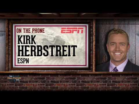 ESPN's Kirk Herbstreit Breaks Down the CFP Title Game w/Dan Patrick | Full Interview | 1/9/18