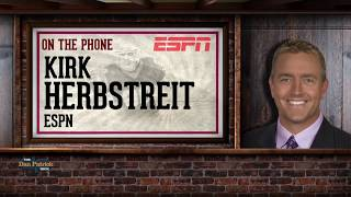 ESPN's Kirk Herbstreit Breaks Down the CFP Title Game w/Dan Patrick | Full Interview | 1/9/18