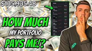 How Much My $106,000 Dividend Portfolio Pays Me! Robinhood Investing 2020
